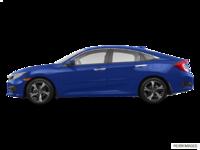 2018 Honda Civic Sedan TOURING   Photo 1   Aegean Blue Metallic