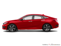 2018 Honda Civic Sedan TOURING   Photo 1   Rallye Red