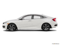 2018 Honda Civic Sedan TOURING   Photo 1   White Orchid Pearl
