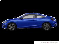 2018 Honda Civic Coupe EX-T HONDA SENSING   Photo 1   Aegean Blue Metallic