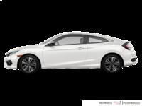 2018 Honda Civic Coupe EX-T HONDA SENSING   Photo 1   White Orchid Pearl