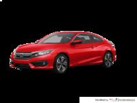 2018 Honda Civic Coupe EX-T HONDA SENSING   Photo 3   Rallye Red