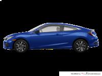 2018 Honda Civic Coupe LX-HONDA SENSING | Photo 1 | Aegean Blue Metallic