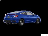 2018 Honda Civic Coupe LX   Photo 2   Aegean Blue Metallic