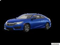 2018 Honda Civic Coupe LX   Photo 3   Aegean Blue Metallic