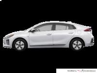 2018 Hyundai Ioniq Hybrid BLUE   Photo 1   Polar White