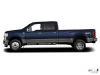 2018 Ford Super Duty F-450 KING RANCH | Photo 1 | Blue Jeans Metallic/Stone Grey