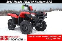 2015 Honda TRX500 EPS Rubicon