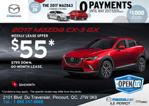 Get the All-New 2017 Mazda CX-3!