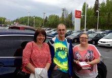 Nous avons eu une très bonne expérience chez Bathurst Honda. Tammy Aubie était très sympathique et maîtrisait bien ses produits.