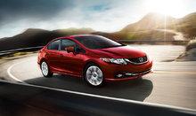 Les détails sur la Honda Civic 2015 : un classique, en version coupé ou berline
