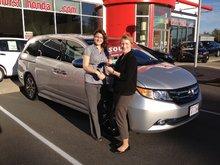 Autre que d'être gentille et accueillante, Rachel a une connaissance approfondie des produits et services Honda! Heather Branch