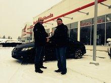 L'équipe des ventes chez Bathurst Honda a été très accueillante dès le début! Richard Pitre
