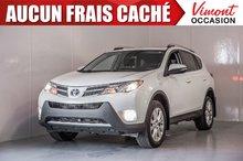 2015 Toyota RAV4 2015+LIMITED+CUIR+NAV+TOIT+CAMERA RECUL