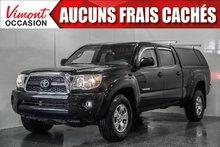 Toyota Tacoma 2011+4WD+SR5+CREW CAB+BOITE LEER+A/C+GR ELEC COMPL 2011