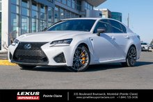 2016 Lexus GS F V8
