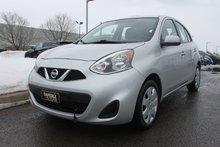 Nissan Micra SV*AUTOMATIQUE*GARANTIE PROLONGEE INCLUS* 2015