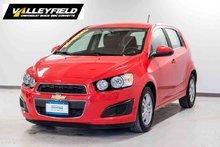 2016 Chevrolet Sonic LT ONSTAR 4G LTE WI-FI, CAMERA DE RECUL
