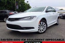 Chrysler 200 LX 6690 KM SEULEMENT 54$/SEM,AUTO,GR ELEC,A VOIR!! 2016