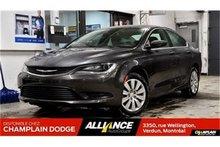 Chrysler 200 LX,BAS MILLAGE,COMME NEUF,WOW!!! 2016