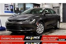Chrysler 200 LX**SEULEMENT 771 KM**DÉMO**BLUETOOTH**TOUT ÉQUIPÉ 2016