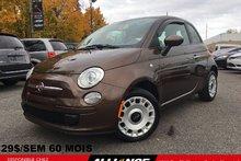 2012 Fiat 500 POP MANUELLE 29$/SEM 41 728 KM SEULEMENT