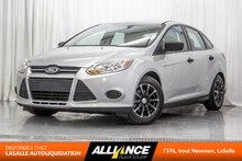 Ford Focus S | 2.4L | A/C | MANUEL | 2014