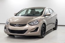 2016 Hyundai Elantra NOUVEAU EN INVENTAIRE