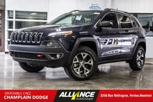 2016 Jeep Cherokee TRAILHAWK CUIR V6 CAMERA 4x4