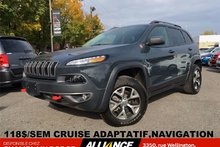 Jeep Cherokee TRAILHAWK 118$/SEM CRUISE ADAPTATIF, NAVIGATION 2017