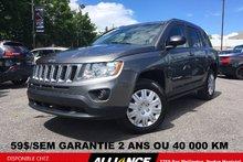 Jeep Compass sport SPORT,59$/SEM,AUTOMATIQUE,A/C,GR ELECTRIQUE 2012