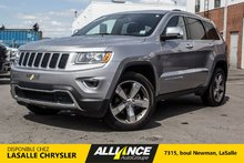 Jeep Grand Cherokee LIMITÉE 4x4 CUIR CAMERA NAV TOIT REMORQUE 2015