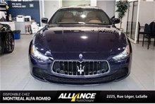 Maserati Ghibli GPS   CAMERA   CUIR   2014