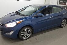 Hyundai Elantra 2015 LIMITED, cuir, toit ouvrant, navigation