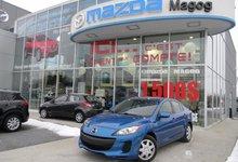 Mazda 3 2012 GX, 39 000KM GARANTIE MAZDA JANVIER 2017