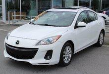 Mazda Mazda3 2012 GS-SKY*TOIT*AC*CUIR*SIÈGE CHAUFF*BLUETOOTH*