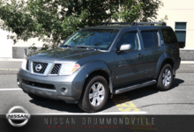 Nissan Pathfinder 2006 LE AWD - 7 PASSAGERS - TOIT + CUIR!!