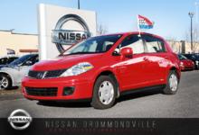 Nissan Versa 2008 1.8S OPT+ A/C - BAS MILLAGE - JAMAIS ACCIDENTÉ!