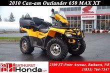 Can-Am Outlander 650  2011