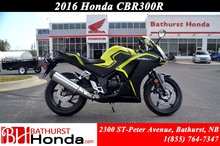 2016 Honda CBR300RA