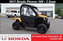 Honda Pioneer 500  2015