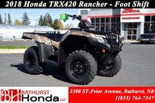 Honda TRX420 Rancher 2018