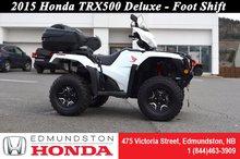 Honda TRX500 Deluxe 2015