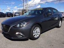Mazda Mazda3 GS,SIÈGES CHAUFFANTS, BLUETOOTH, CAMERA, MAGS, A/C 2016