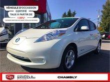 Nissan Leaf SV*QUICK CHARGE*GPS*JAMAIS ACCIDENTÉ 2015