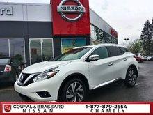 Nissan Murano PLATINUM*16000KM*JAMAIS ACCIDENTÉ 2016