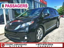 2013 Toyota Sienna SE*TOIT OUVRANT*MAGS SPORT*PORTES ELECTRIQUES