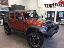 Jeep Wrangler Unlimited SPORT/ V6 4X4/UNIQUE/**136$SEM./GARANTIE PROLONGÉ 2014