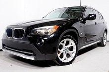 BMW X1 28I SPORT PKG XDRIVE GPS TOIT PANORAMIQUE 2012