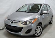 2014 Mazda 2 GX A/C AUTOMATIQUE DEMARREUR DISTANCE CERTIFIE